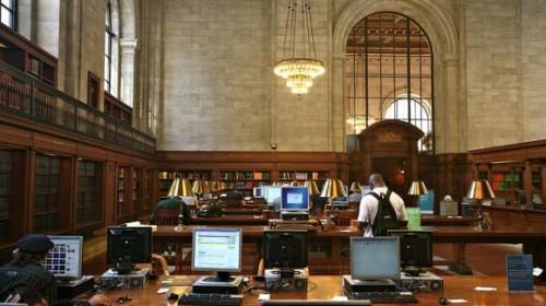 NYPL library